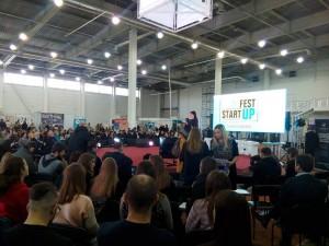 Запорізьке РУ Фонду на першому в Запоріжжі фестивалі бізнес-проектів