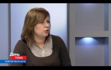 Заступник директора Запорізького РУ Фонду дала інтерв'ю у студії телеканалу ТВ-5