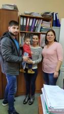 У Запоріжжі державну підтримку отримала ще одна родина ВПО